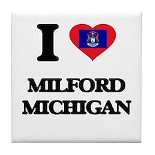 I love Milford Michigan Tile Coaster