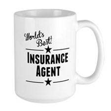 Worlds Best Insurance Agent Mugs