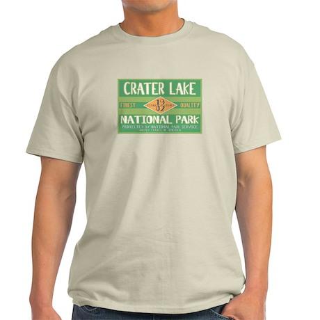 Crater Lake National Park (Retro) Light T-Shirt