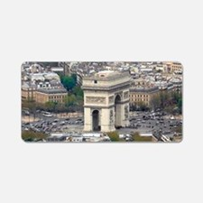 PARIS GIFT STORE Aluminum License Plate
