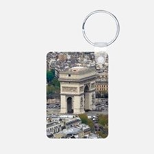PARIS GIFT STORE Aluminum Photo Keychain