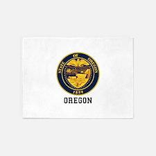 Oregon Seal 5'x7'Area Rug