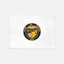 Oregon State Seal 5'x7'Area Rug