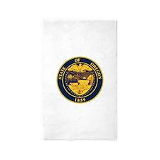 Oregon State Seal Area Rug