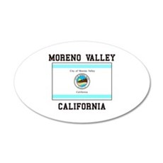 Moreno Valley California Wall Decal