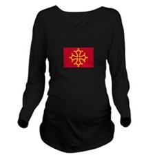 Toulouse, France Long Sleeve Maternity T-Shirt