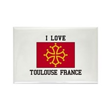 I Love Toulouse France Magnets