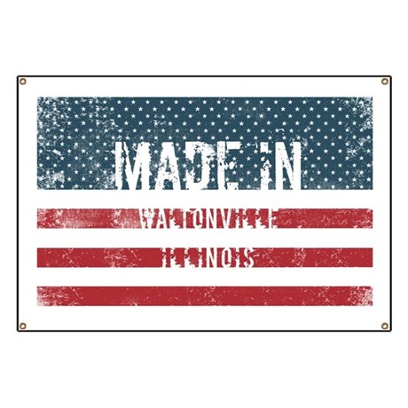 Made in Waltonville, Illinois Banner