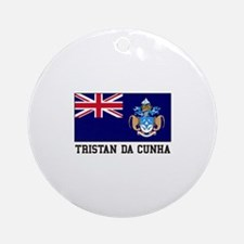 Tristan da Cunha Ornament (Round)