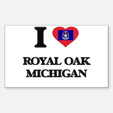 I love Royal Oak Michigan Decal