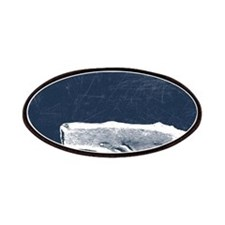 Vintage Whale White Patch