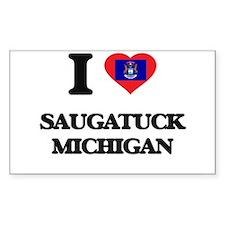 I love Saugatuck Michigan Decal