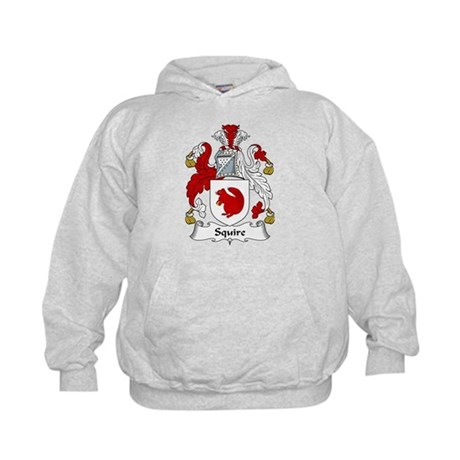 Squire Family Crest Kids Hoodie