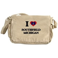 I love Southfield Michigan Messenger Bag