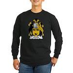 Squibb Family Crest Long Sleeve Dark T-Shirt