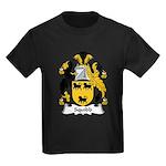 Squibb Family Crest Kids Dark T-Shirt