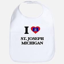 I love St. Joseph Michigan Bib