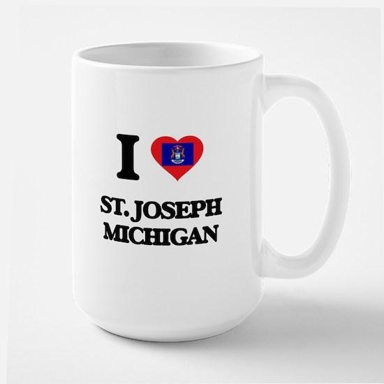 I love St. Joseph Michigan Mugs