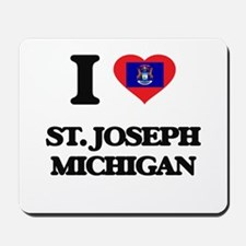 I love St. Joseph Michigan Mousepad