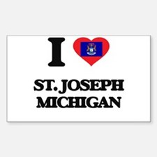 I love St. Joseph Michigan Decal