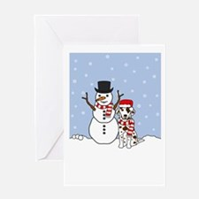 Dalmatian Season's Best Greeting Card