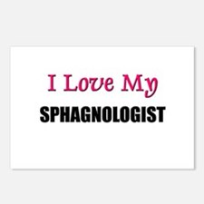I Love My SPHAGNOLOGIST Postcards (Package of 8)