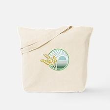 Harvest Decal Tote Bag