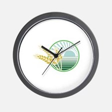 Harvest Decal Wall Clock