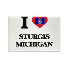 I love Sturgis Michigan Magnets