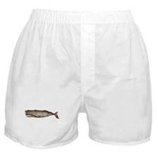 Vintage Whale Brown Boxer Shorts
