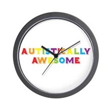 Autistically Awesome Wall Clock