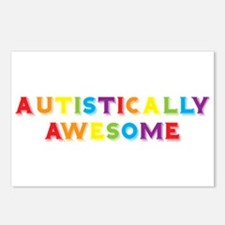 Autistically Awesome Postcards (Package of 8)