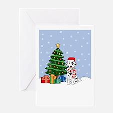 Dalmatian Season's Best Greeting Card
