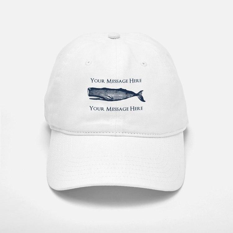 killer whale baseball cap personalized vintage