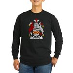 Sprigge Family Crest Long Sleeve Dark T-Shirt