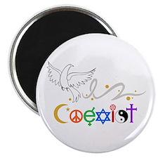 COEXIST DOVE Magnets
