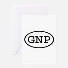 GNP Oval Greeting Card