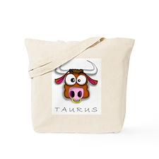 Taurus Cartoon Tote Bag