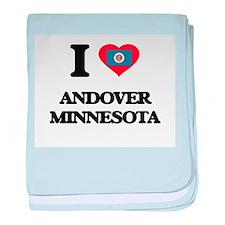 I love Andover Minnesota baby blanket