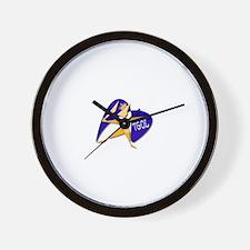 Rpg character Wall Clock