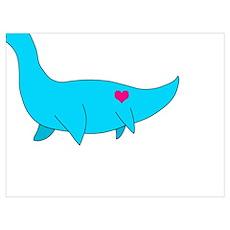 My Little Plesiosaurus Poster