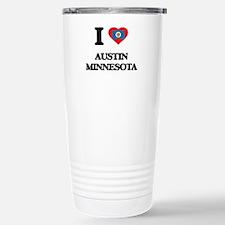 I love Austin Minnesota Travel Mug