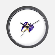 Funny Rpg character Wall Clock