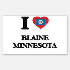 I love Blaine Minnesota Decal