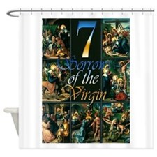 7 Sorrows of the Virgin Shower Curtain