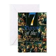 7 Sorrows of the Virgin Greeting Cards