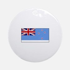 Ross Dependency Flag Ornament (Round)