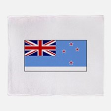 Ross Dependency Flag Throw Blanket
