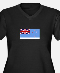 Ross Dependency Flag Plus Size T-Shirt