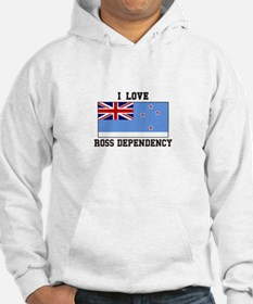 I Love Ross Dependency Hoodie